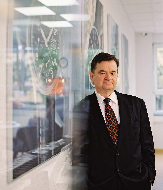 Sinn Spezialuhren Porträt Lothar Schmidt