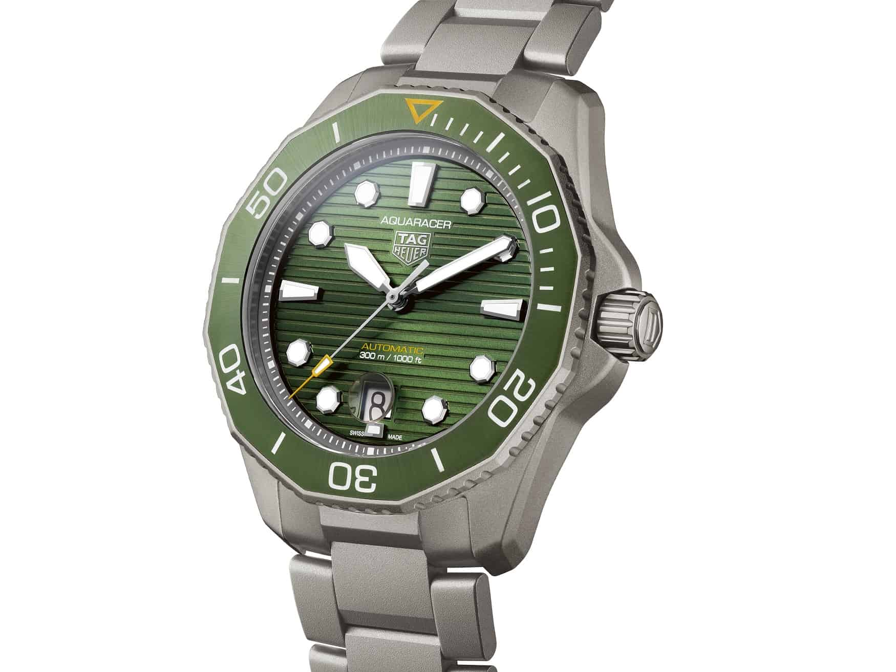 TAG Heuer Aquaracer in Grün