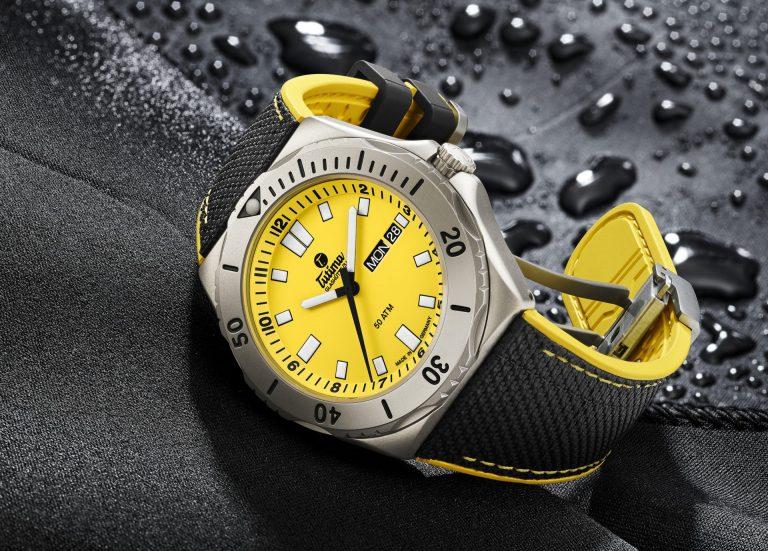 Tutima M2 Seven Seas Signal Yellow
