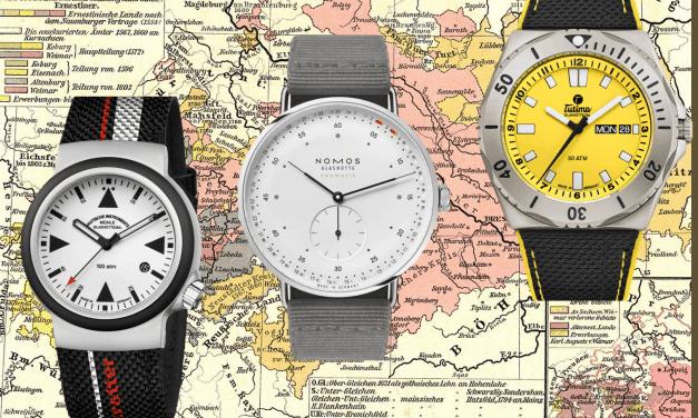 3 Uhren Neuheiten aus Glashütte:  Nomos, Tutima und Mühle