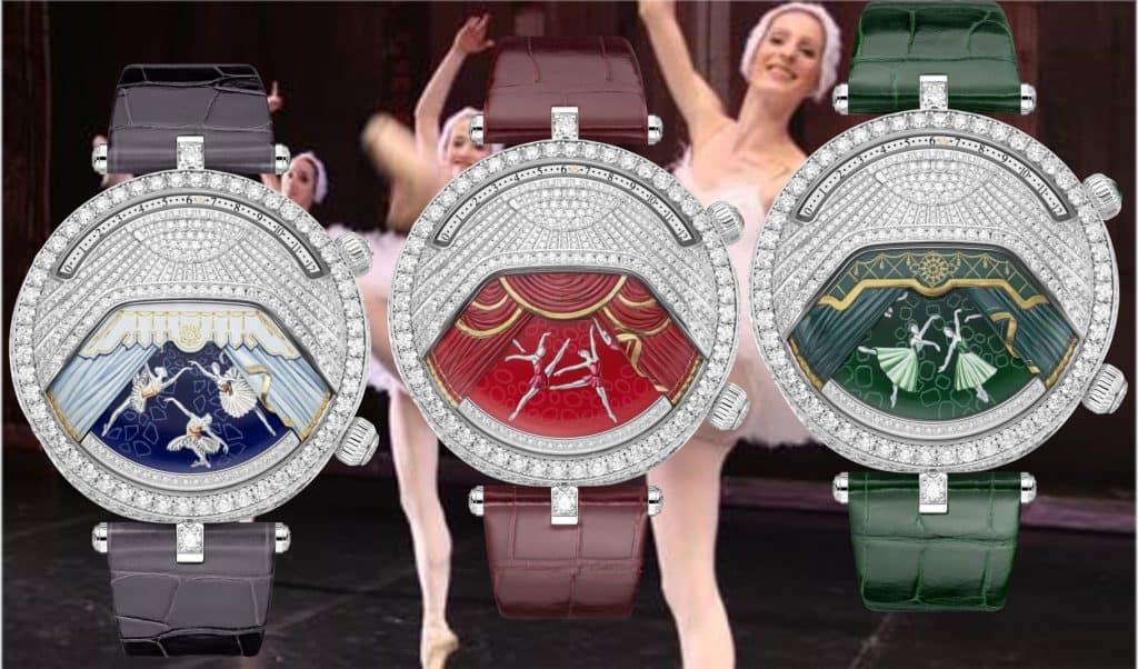 Van Cleef & Arpels Lady Arpels Ballerines Musicales