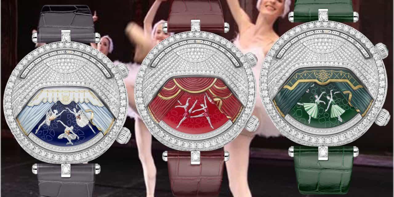 Van Cleef Und Arpels Lady Arpels Ballerines Musicales: C'est Musique et Ballet!
