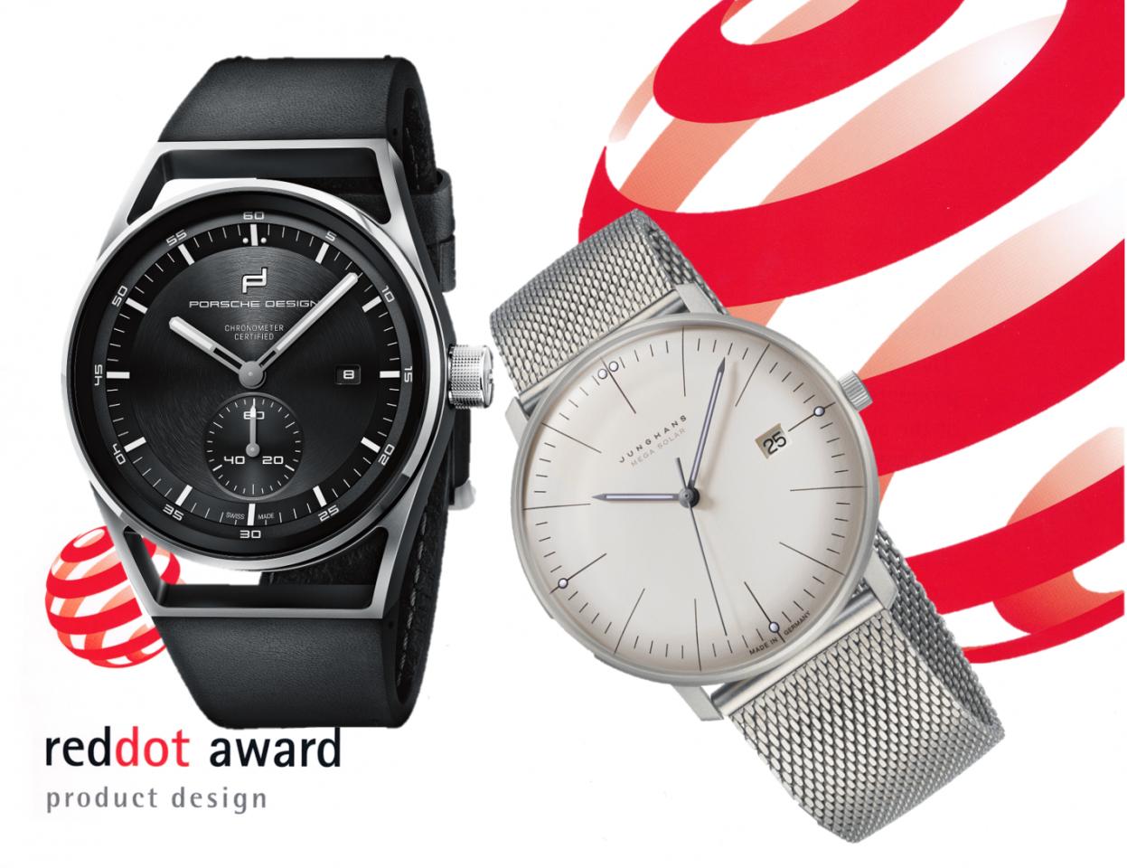 Red Dot Award Uhren: Dies Modelle erhielten einen Preis für gutes Produktdesign