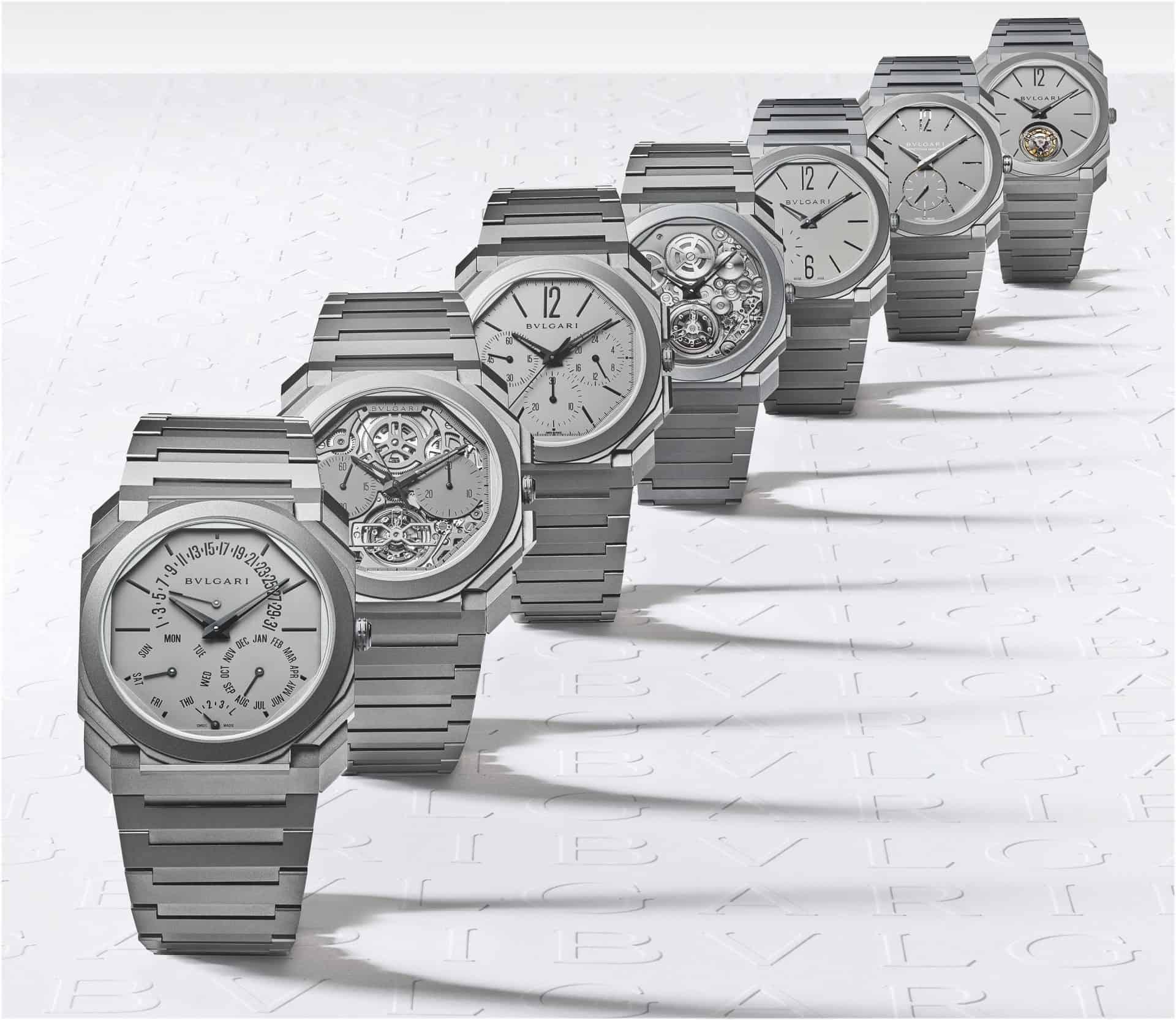 7 superflache Bulgari Uhren Referenzen 103295 102713 103068 103015 102937 103016 103200
