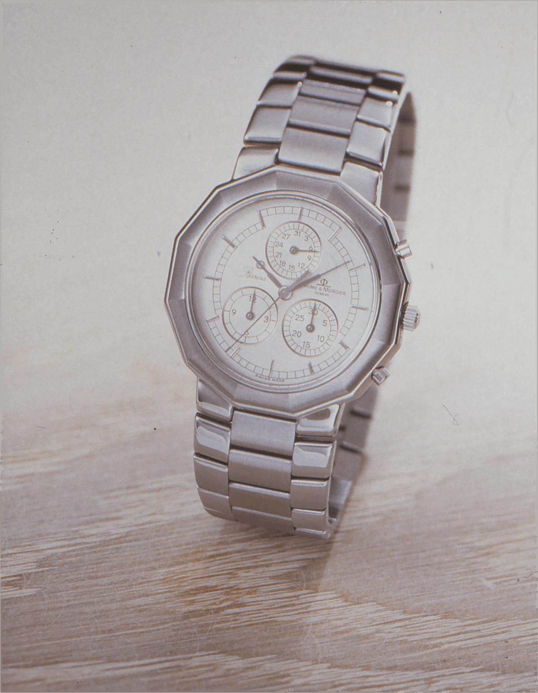 Baume & Mercier Quarz-Chronograph mit einem Kaliber von Piaget