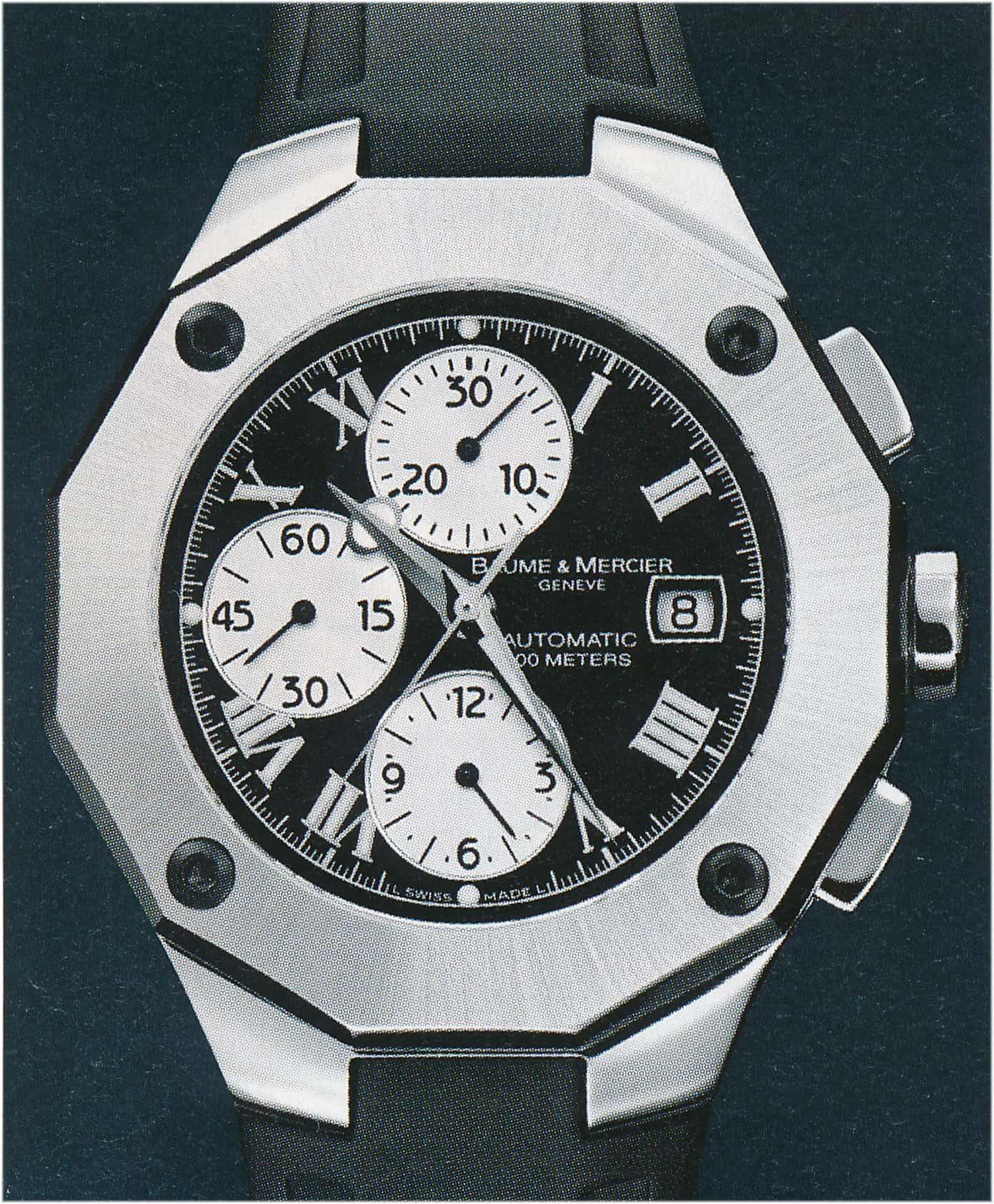 Baume & Mercier Riviera Chronograph XXL Automatik 2005 MOA 08594