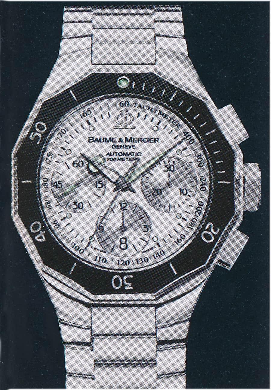 Baume & Mercier Riviera Chronograph XXL Automatik Drehlünette 2007