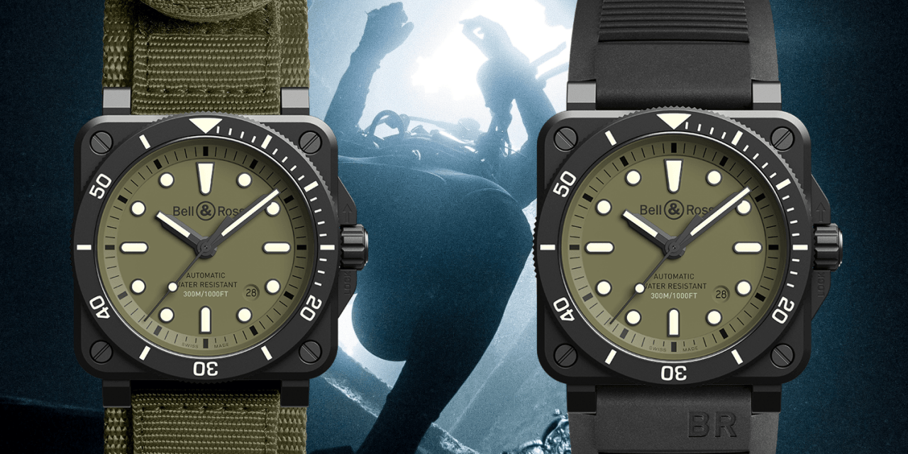 Bell & Ross BR 03-92 Diver Military: So chic geht militärisch