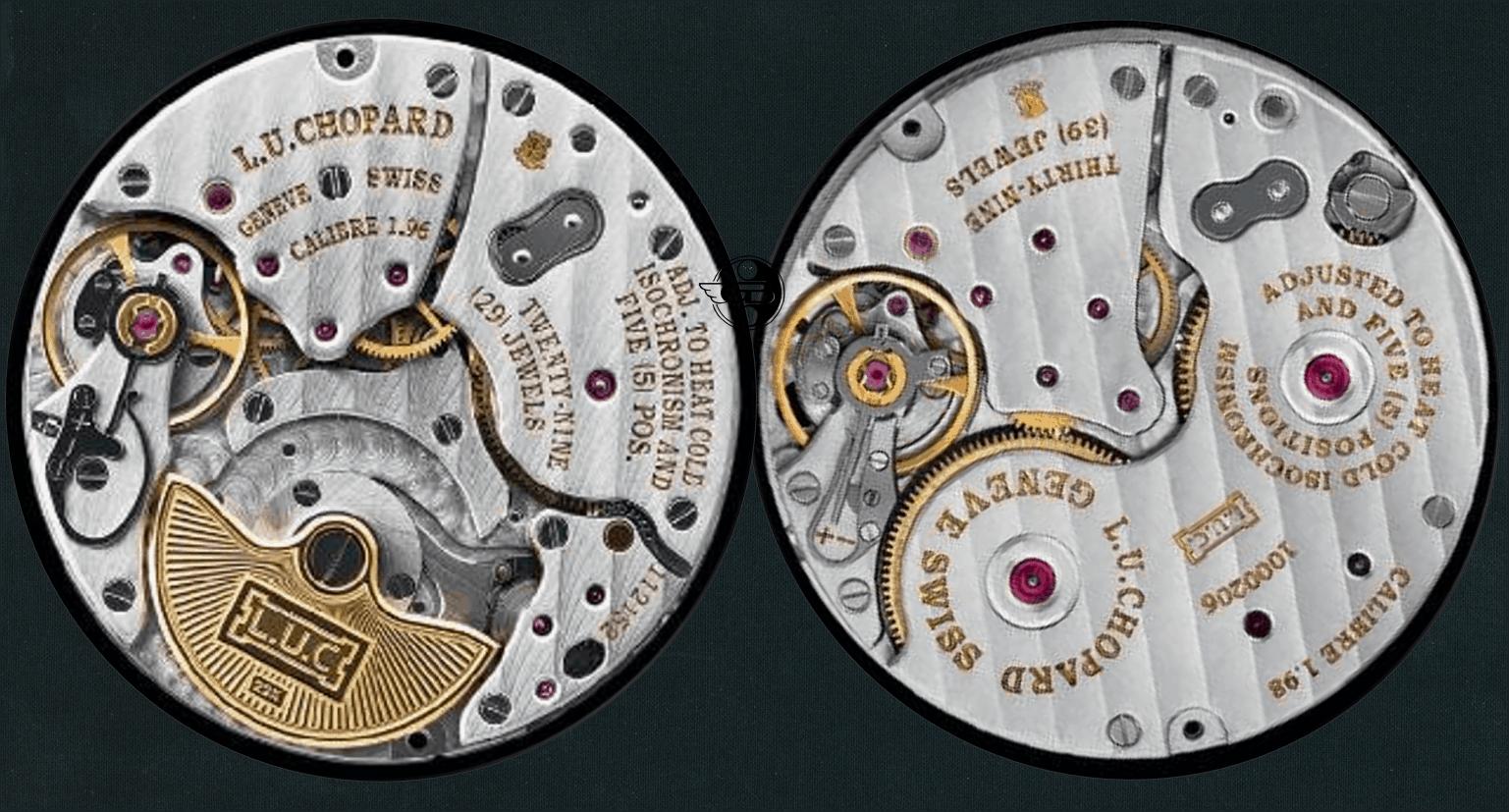 Die aufwendigen Chopard Kaliber L.U.C 96.01-L und L.U.C 98.01-L (C) Uhrenkosmos