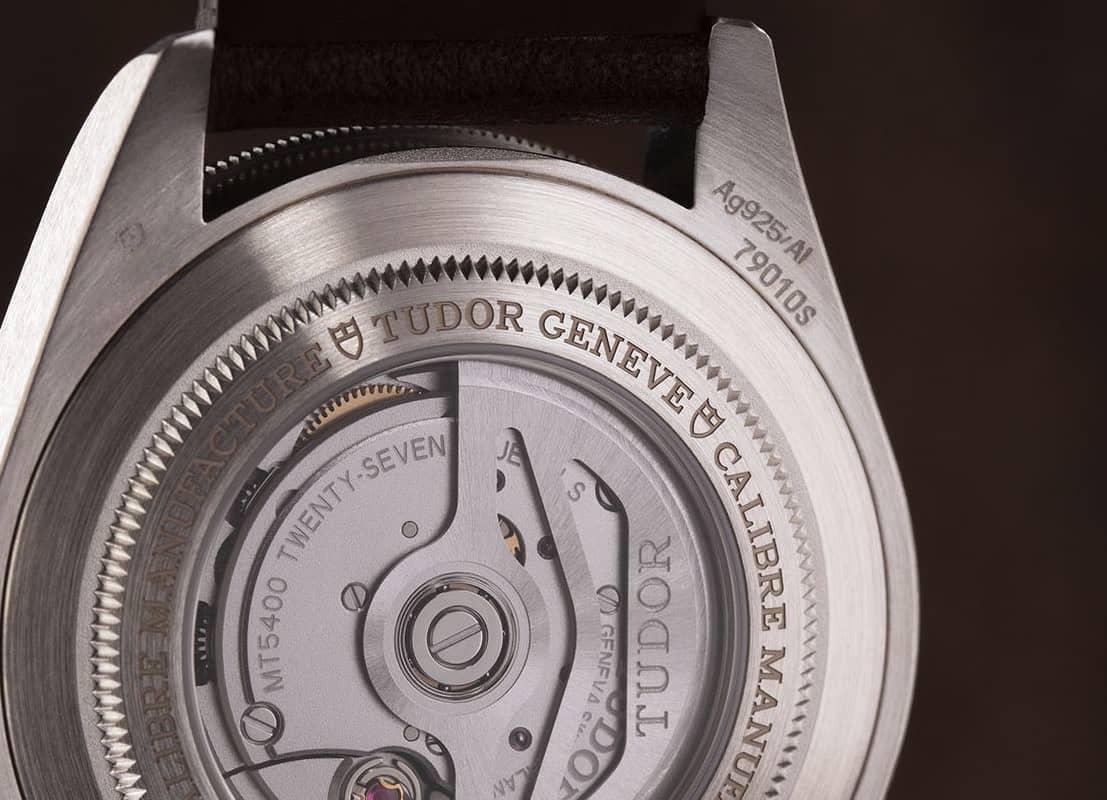 Stempel Ag925/AI Tudor Black Bay Fifty-Eight 925 Silber