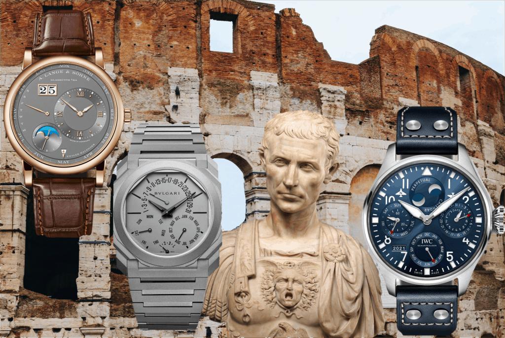 Uhren mit ewigem Kalender Lange und Söhne Bulgari IWC
