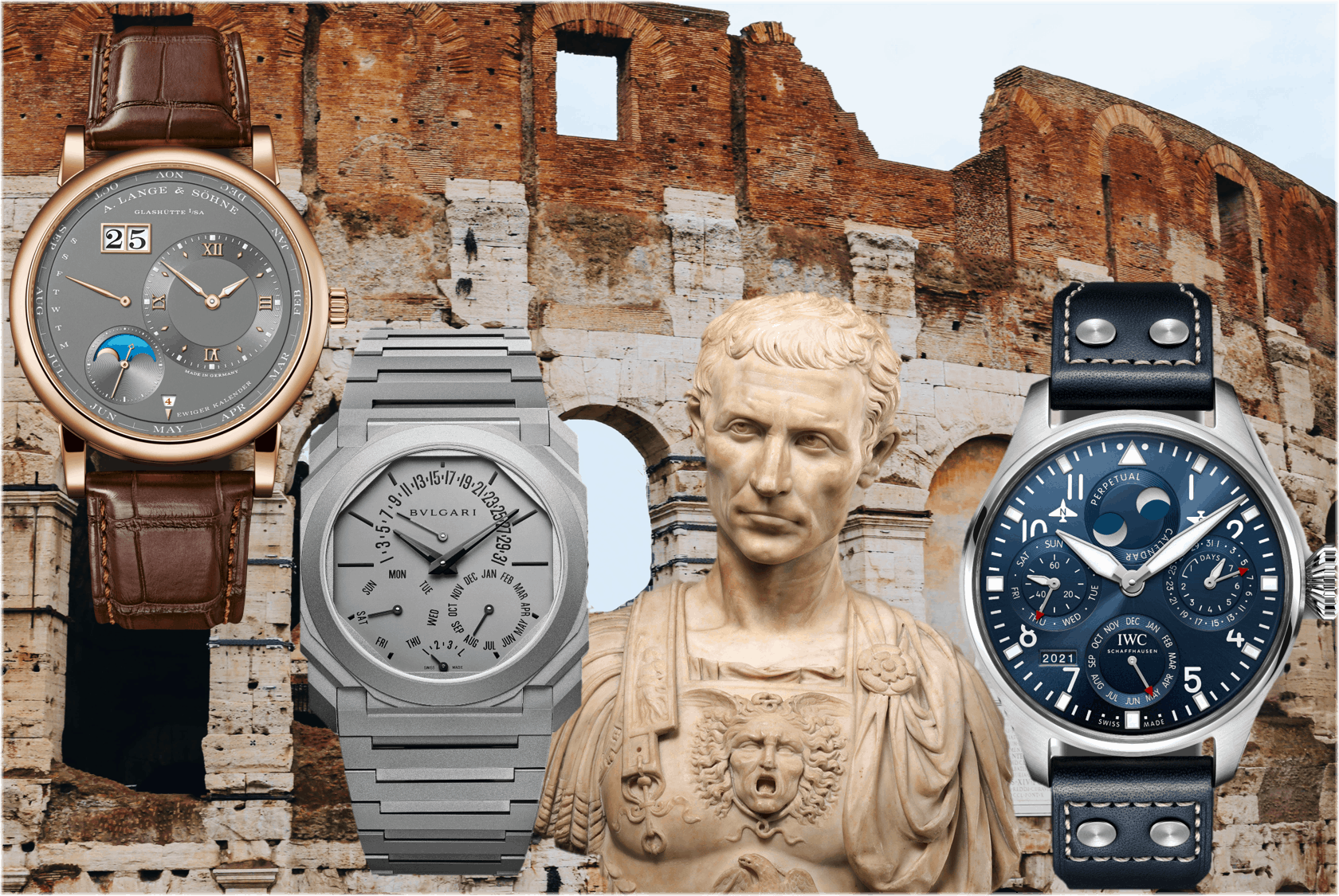 Watches and Wonders Genf 2021Neue Uhren mit ewigem Kalender von A. Lange & Söhne, Bulgari und IWC – Caesar zu Ehren