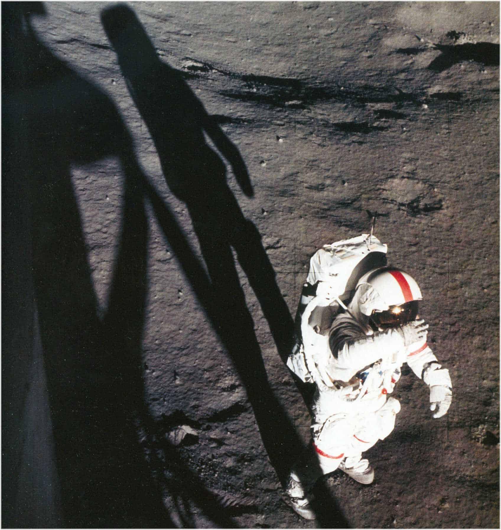 Neil Armstrong 1969 am Mond Aufnahme NASA US