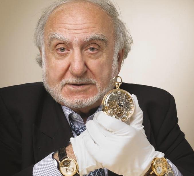 Nicolas Hayek mit Breguet Uhr