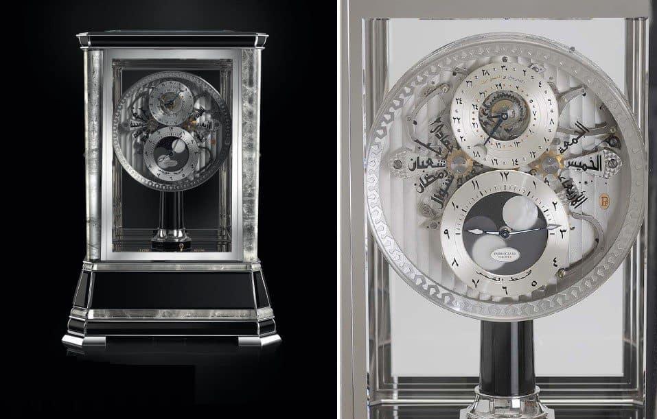Parmigiani Fleurier Tischuhr mit Hijri Kalender von 2011