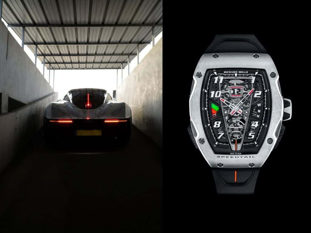 Richard Mille RM 40-01 Automatic Tourbillon McLaren Speedtail Uhr