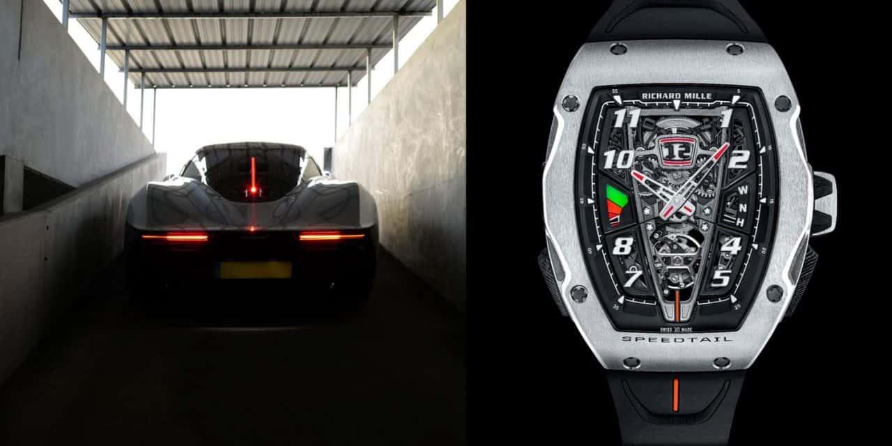 Richard Mille RM 40-01 Automatic Tourbillon McLaren Speedtail: Worauf warten Sie noch?