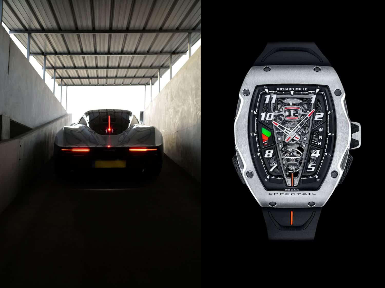Richard Mille - die Uhr zum SportwagenRichard Mille RM 40-01 Automatic Tourbillon McLaren Speedtail: Worauf warten Sie noch?