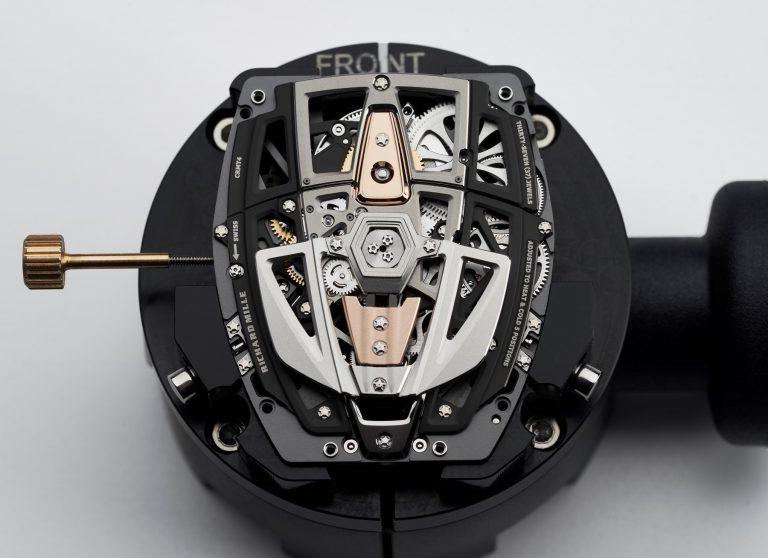Richard Mille RM 40-01 Rückseite mit Rotor