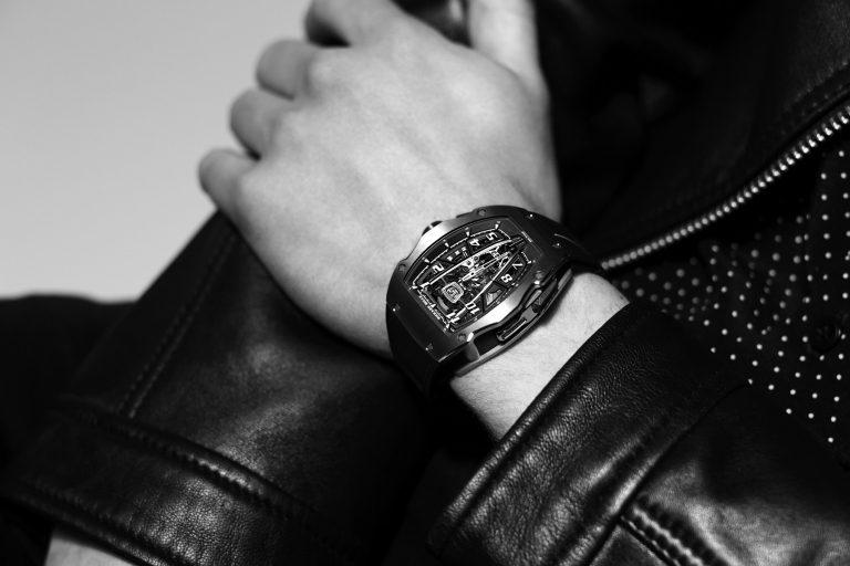 Richard Mille RM 40-01 am Handgelenk