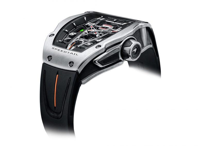 Seitliche Ansicht Richard Mille RM 40-01 McLaren Speedtail