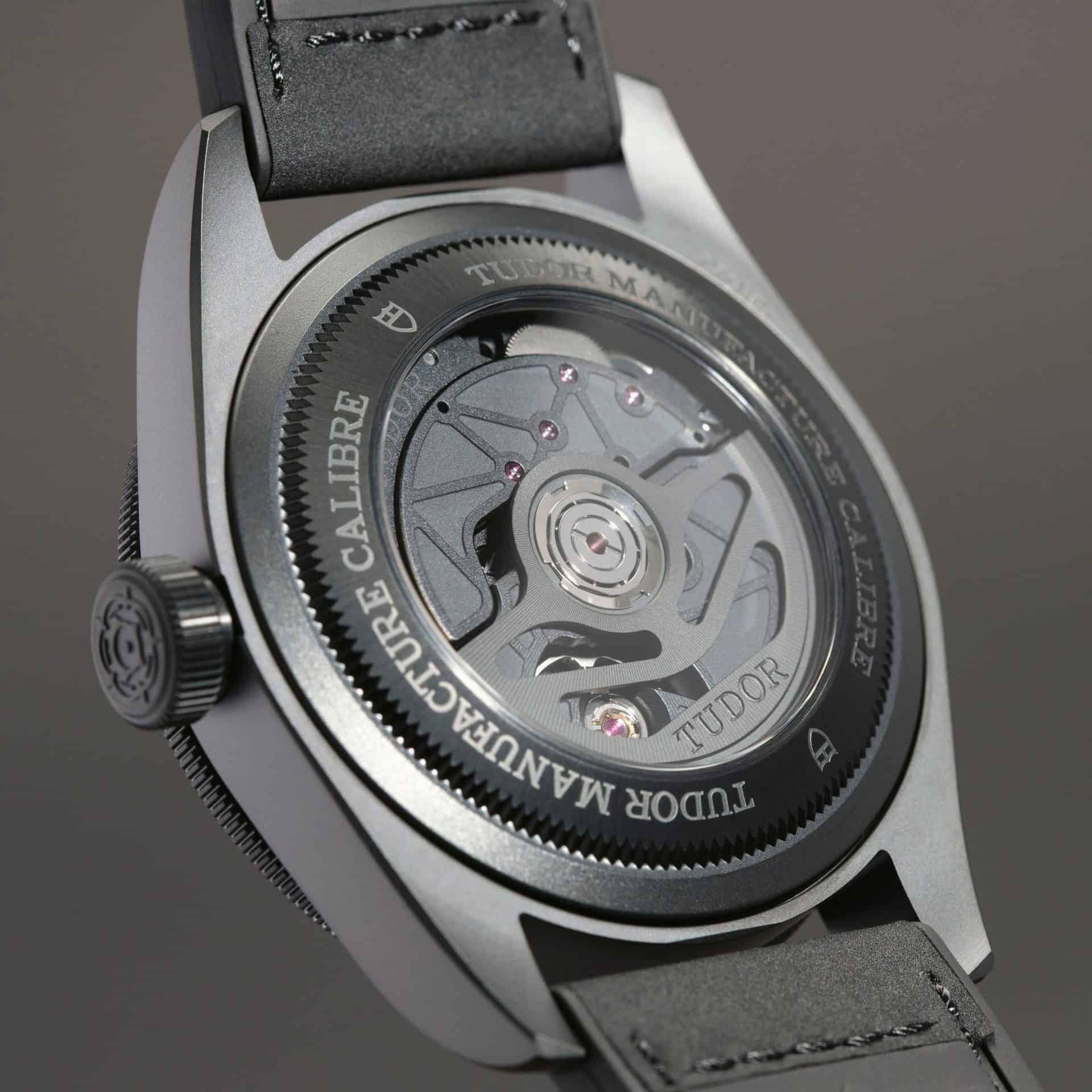 Sichtboden der Black Bay Ceramic Master Chronometer, Referenz 79210CNU