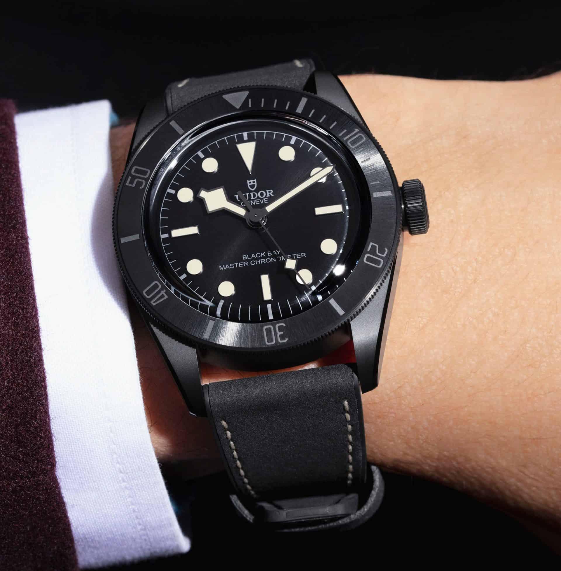 Am Arm getragen - die Tudor Black Bay Ceramic Master Chronometer Referenz 79210CNU