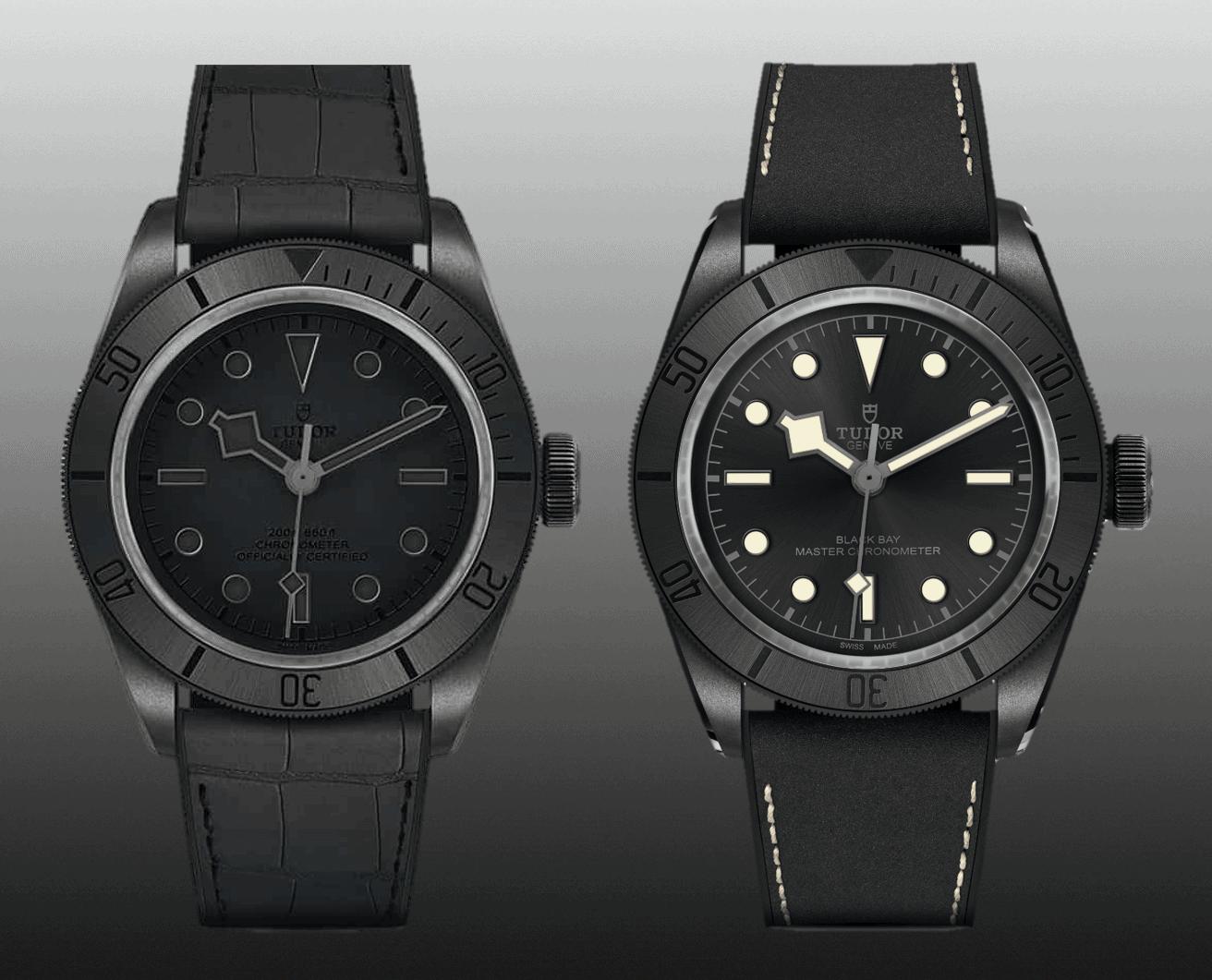 Tudor Black Bay Ceramic One 2019 Only Watch & Tudor Black Bay Ceramic Master Chronometer von 2021