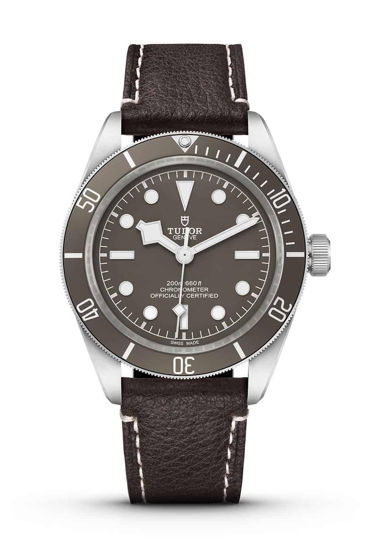 Tudor Black Bay Fifty-Eight 925 Silbergehäuse mit Lederband 2021