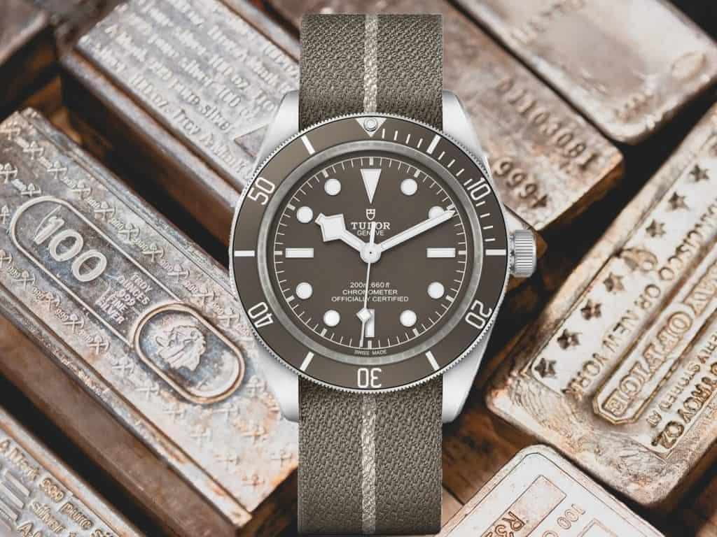 Tudor Black Bay Fifty-Eight 925 mit Silber