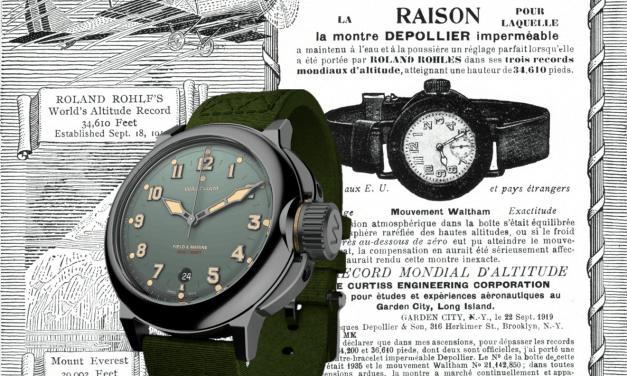 Waltham Field & Marine: Die Neuauflage einer Armbanduhr