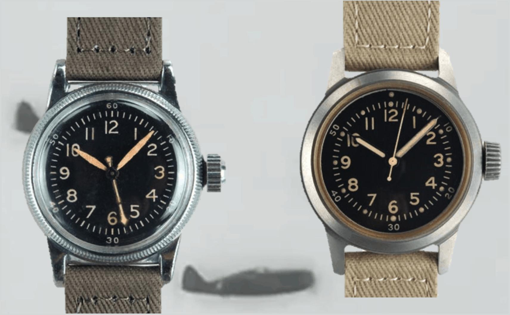 Flieger Armbanduhren des zweiten Weltkriegs von Waltham
