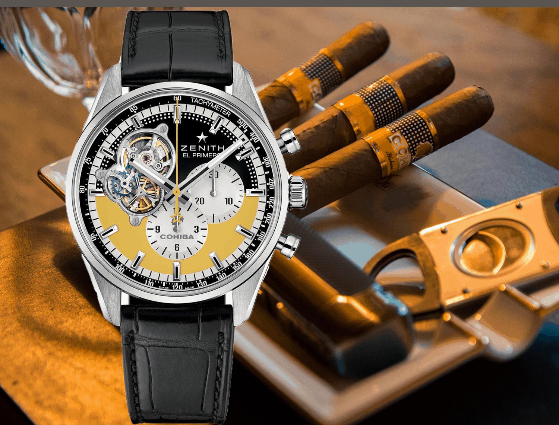 Uhren für ZigarrenliebhaberZenith Chronomaster Open Cohiba 55th Anniversary: