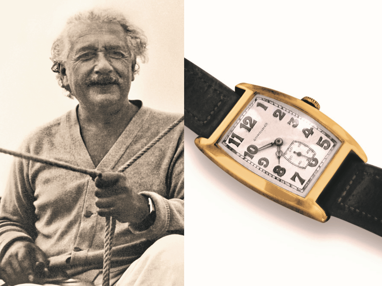 Watch of Fame - Albert Einstein und seine Longines UhrÜber die Relativität von Zeit und vielen Zahlen!