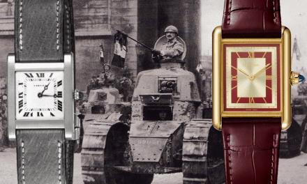 Cartier Tank: Das berühmte Rechteck am Handgelenk