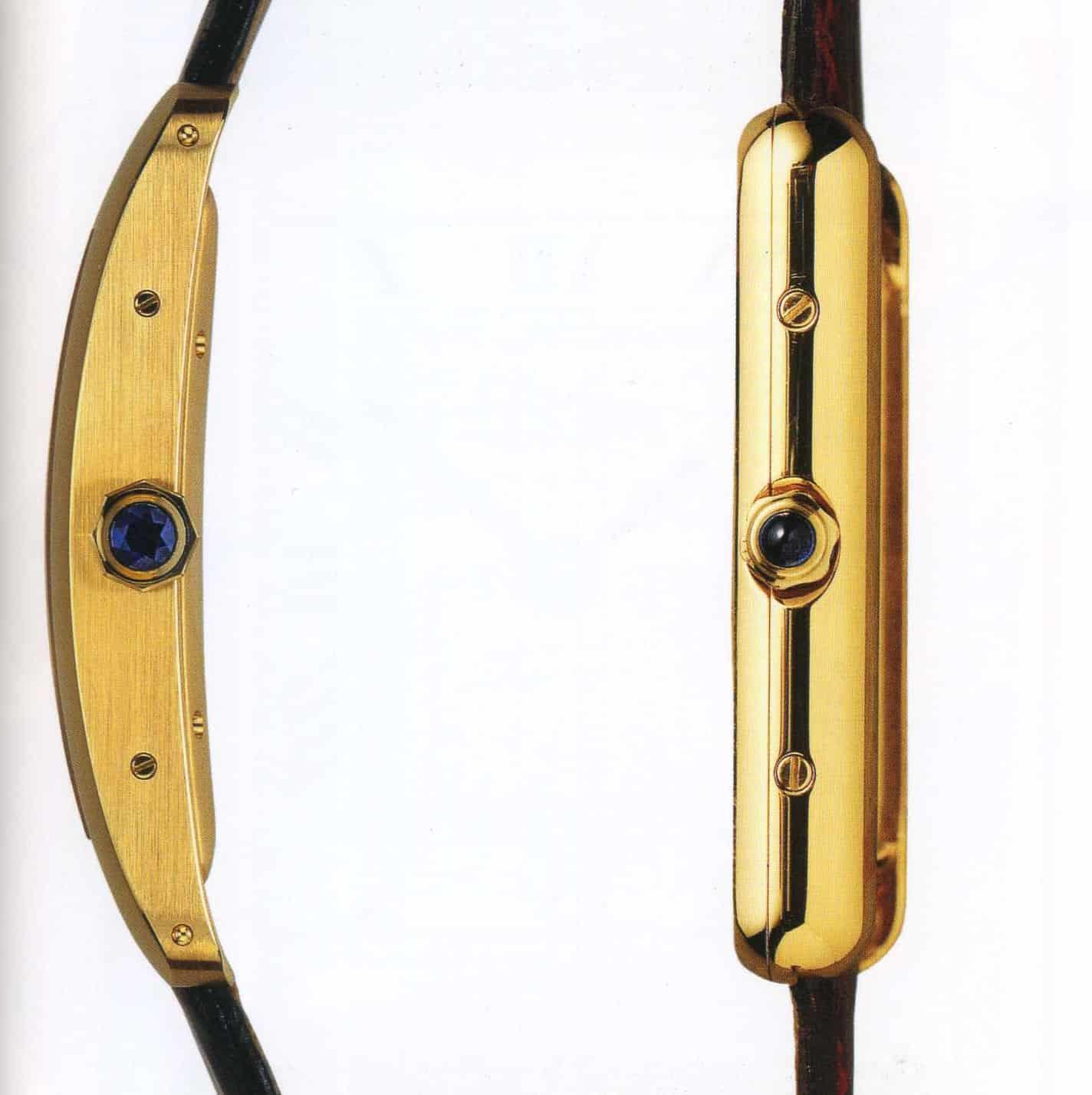 Im Vergleich - die Cartier Tank Americaine & Cartier Tank Louis Cartier im Profil