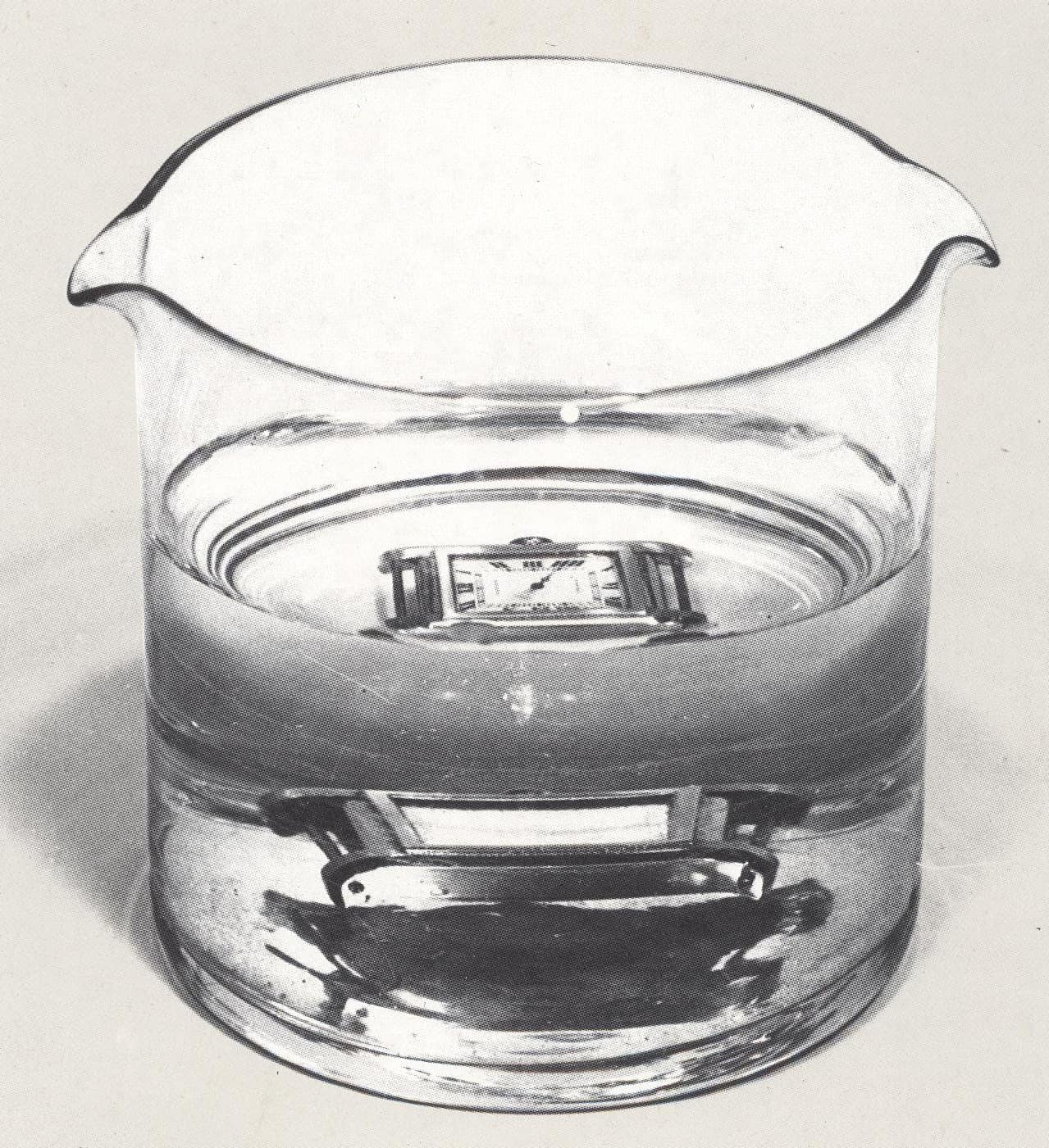 Die wasserdichte Cartier Tank Etanche von 1931
