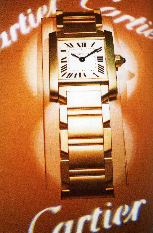 Die Cartier Tank Francaise, die 1996 lanciert wurde