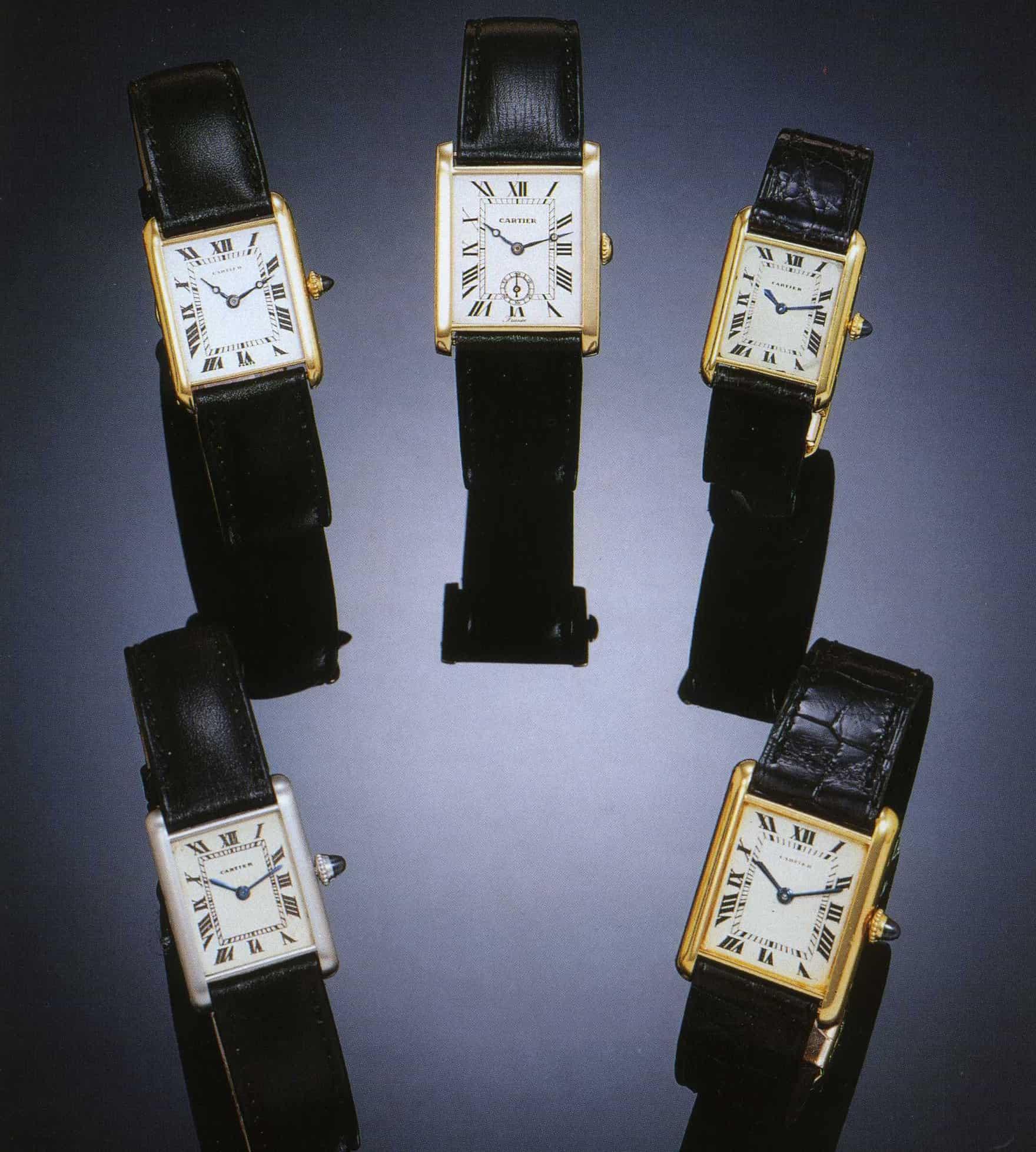 Cartier Tank L.C. 1925 1930 1944 1964 1965 Antiquorum