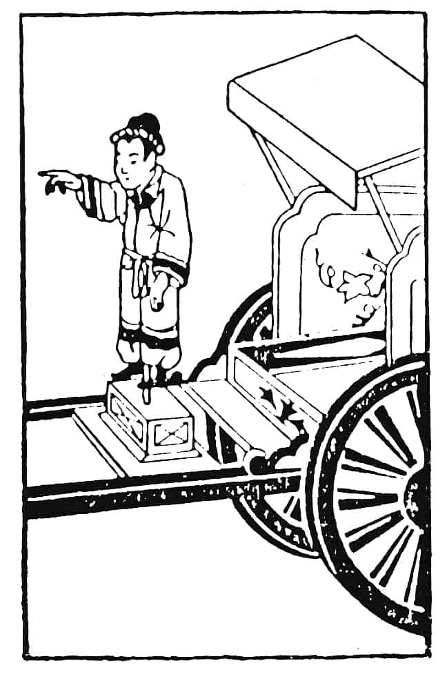 Chinesischer Kompasswagen