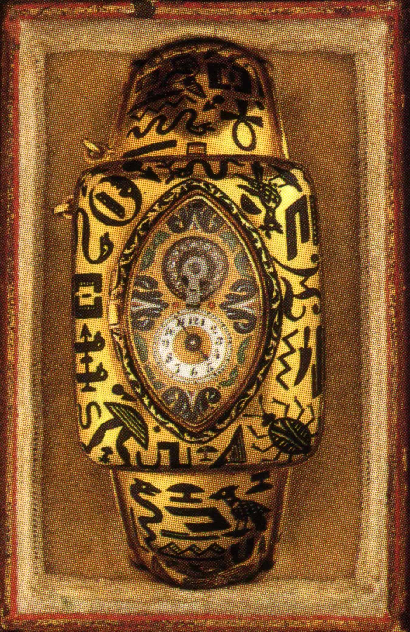Damenuhr des Uhrmachers Niello mit sichtbarer Unruh Zylinderhemmung von ca 1820