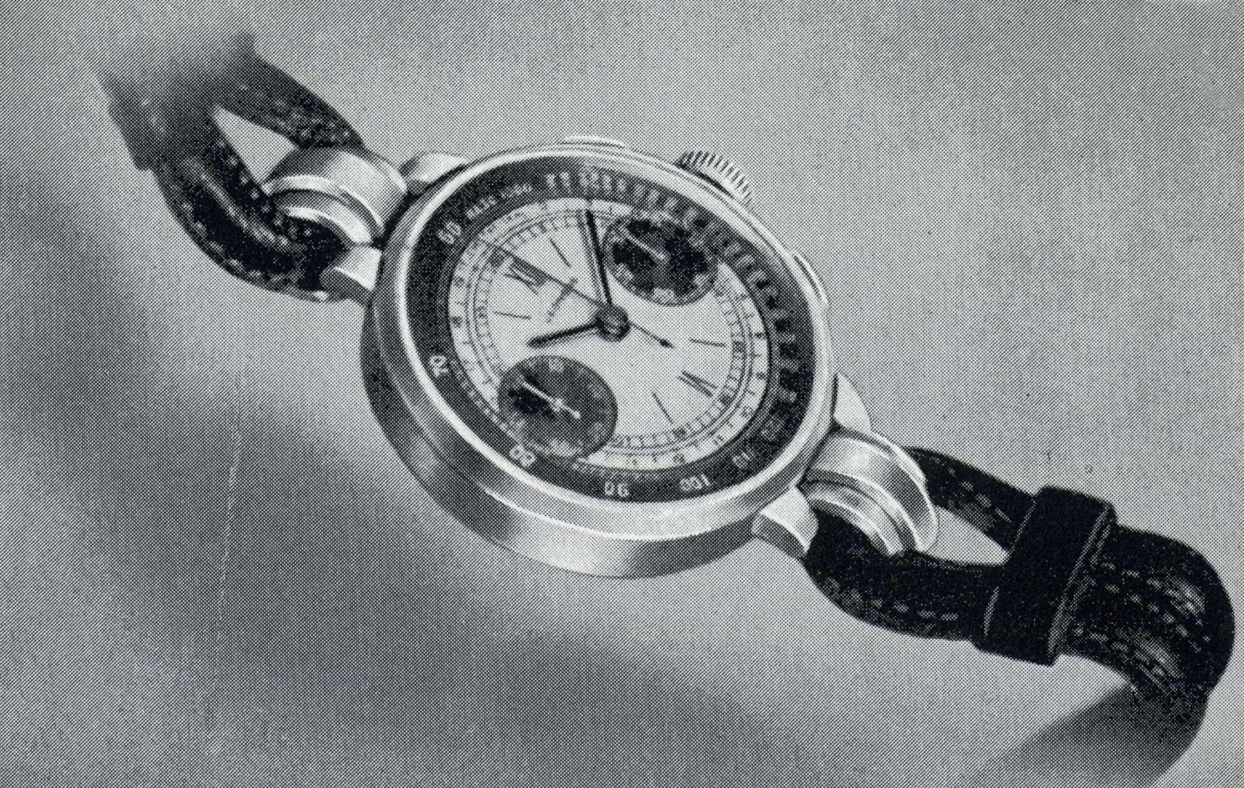 Vintage Leonidas Chronograph auf Ebay