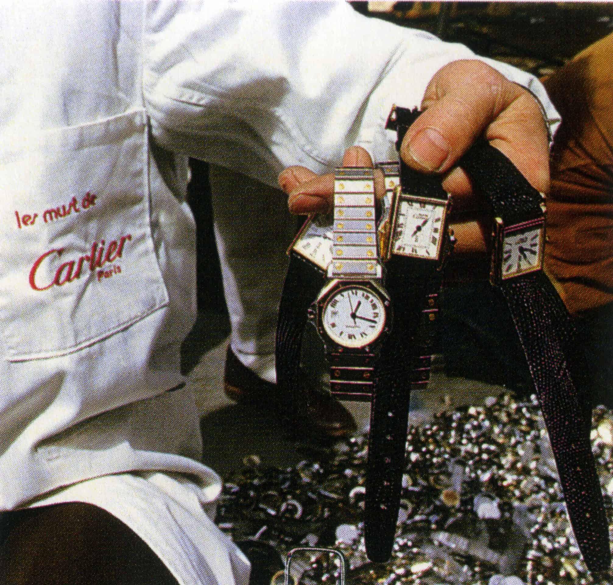 Fälschungen der Tank Linie von Cartier wurden rigoros zerstört
