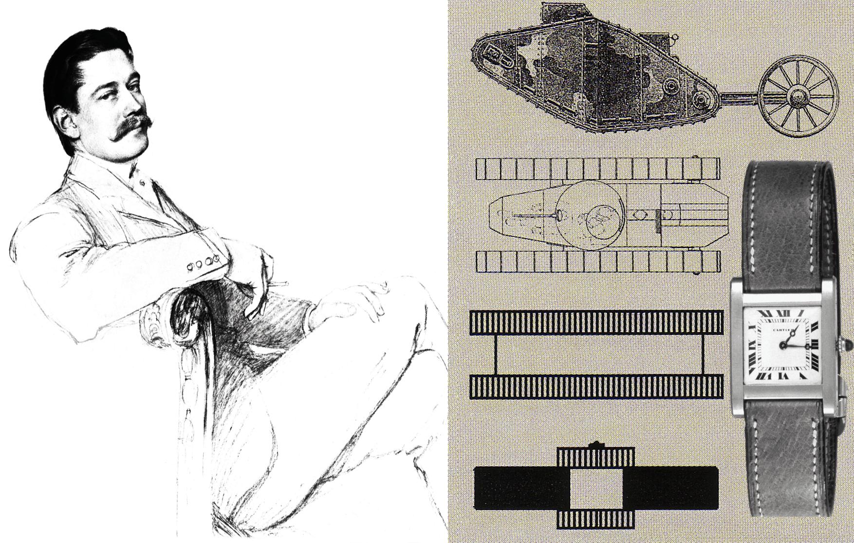 Louis Cartier und sein markantes Cartier Tank Design von 1917