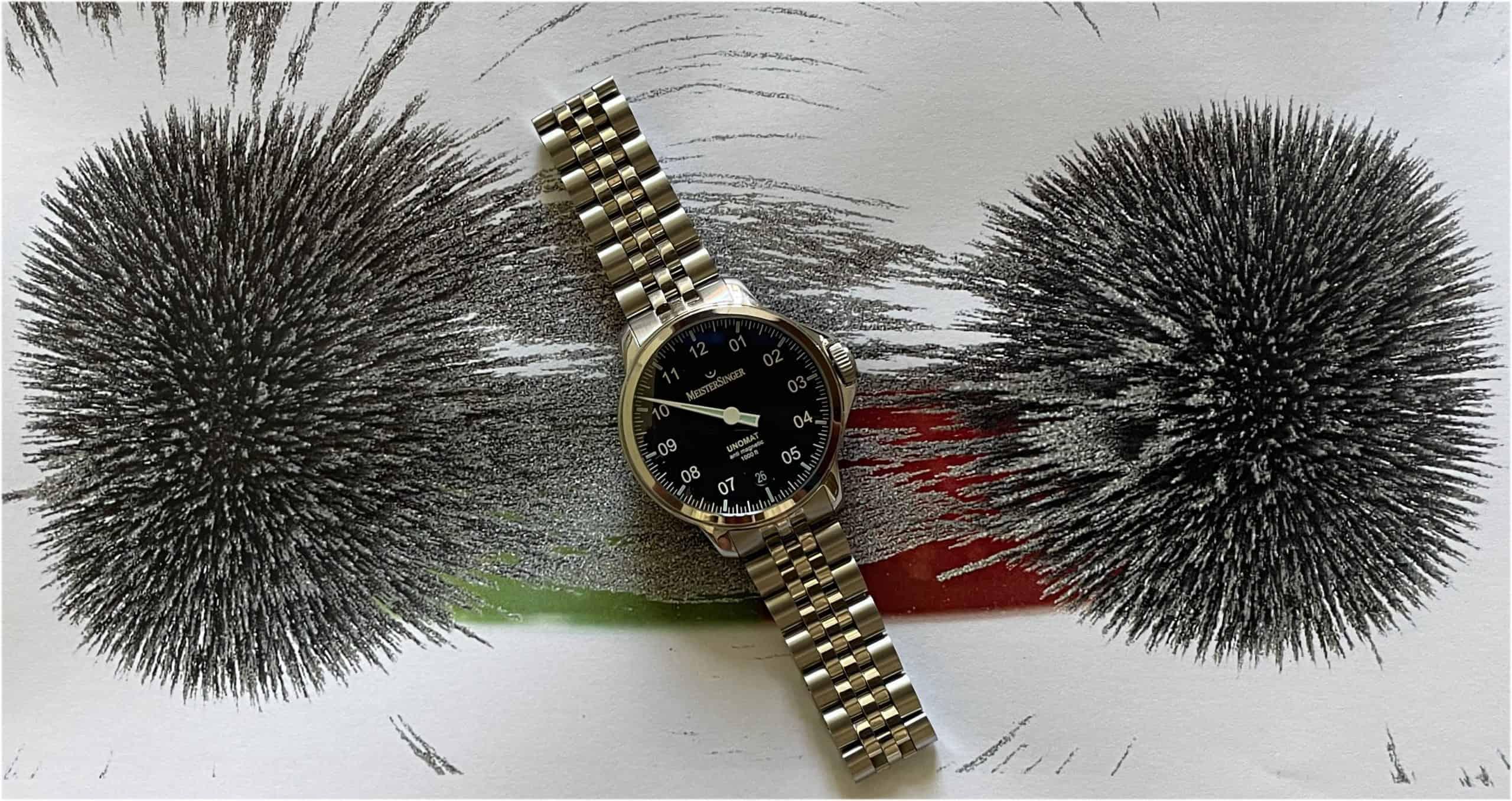 MeisterSinger Unomat antimagnetische Uhr
