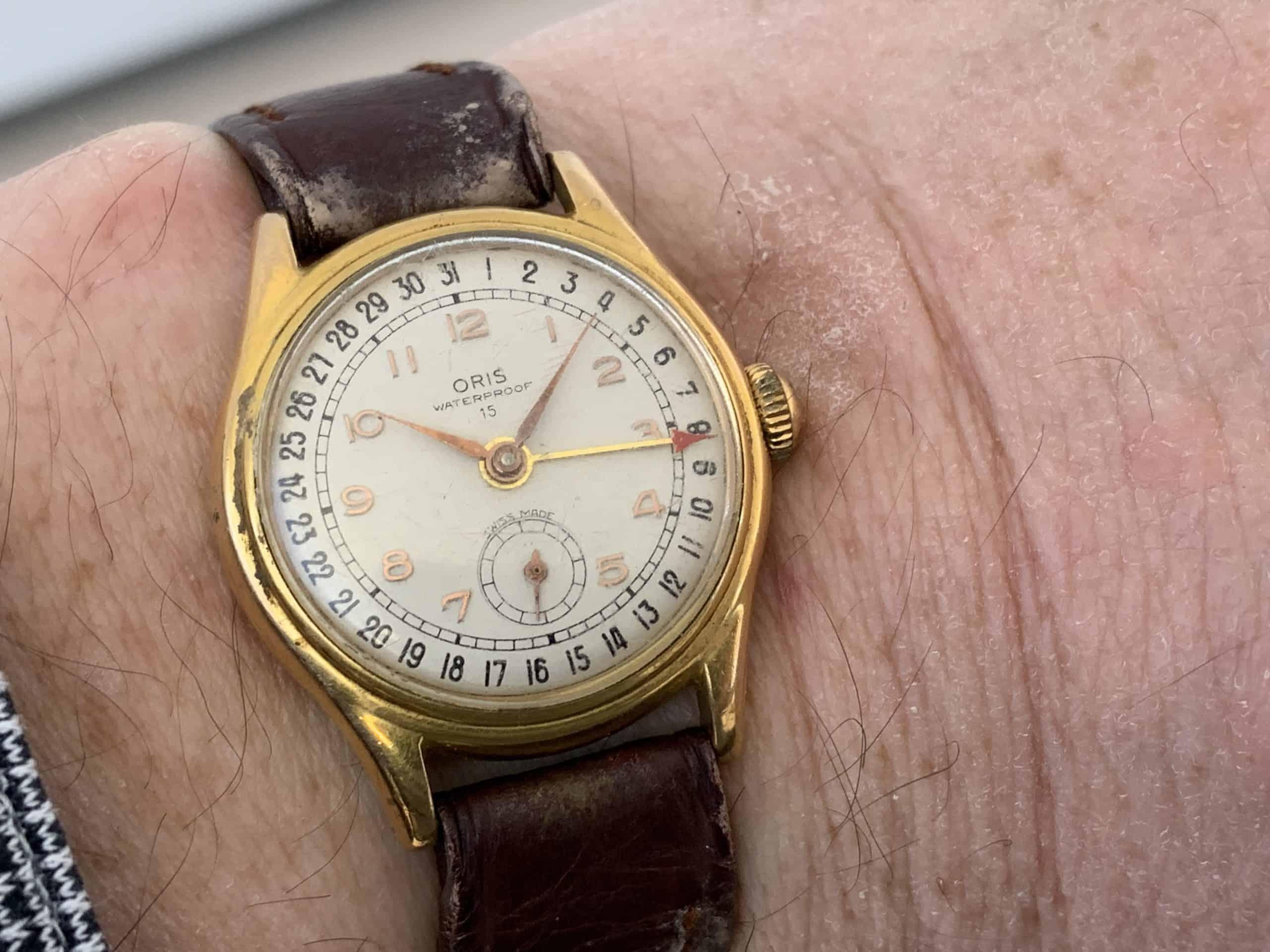 Oris Pointer Date von circa 1950 (C)-Uhrenkosmos