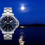 Panerai Submersible Blu Notte mit Metallband