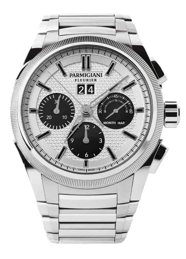 Parmigiani Tondagraph GT Steel Silver-Black-22