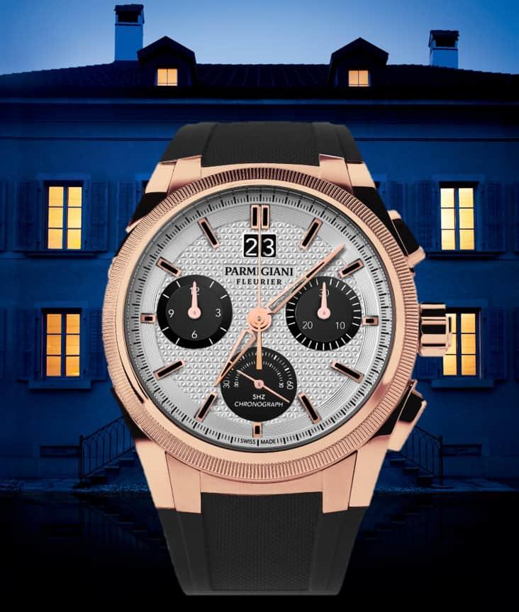 Parmigiani Fleurier Tondagraph GT rose gold silver black von 2021
