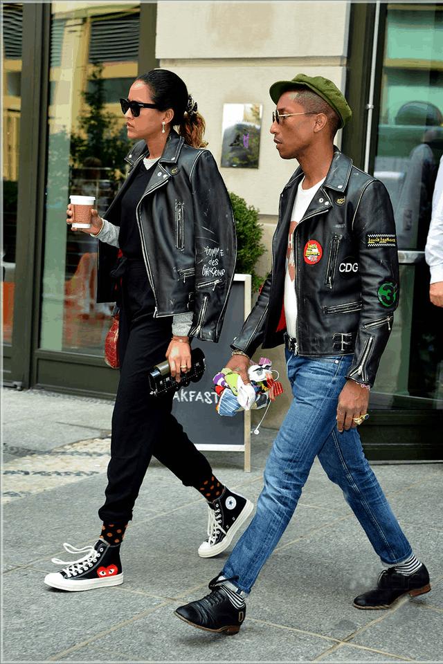 Perfekter Stil Pharrell Williams Pinterest